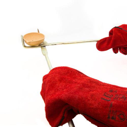 Heat Resistant Kiln Gloves - 1 pair