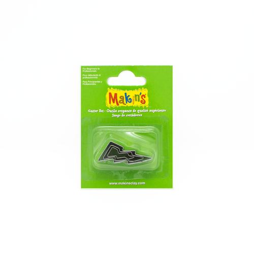 Makin's Clay Cutter Set - Lightning Bolts