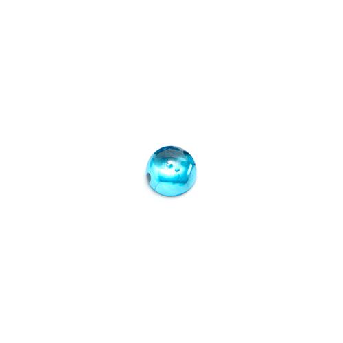 Round Cabochon - CZ Blue - 3mm (Non-fireable)