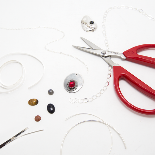 Joyce Chen scissors - a great tool for your jewellery bench.