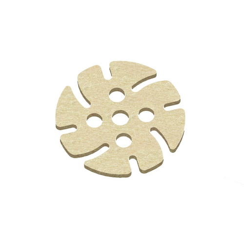 See through polishing disk for JoolTool.