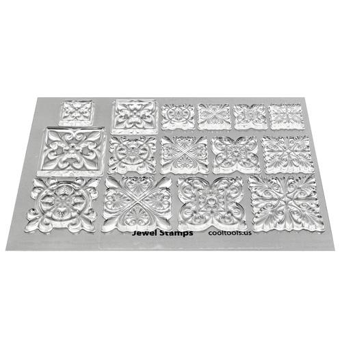 Reusable polymer stamps.