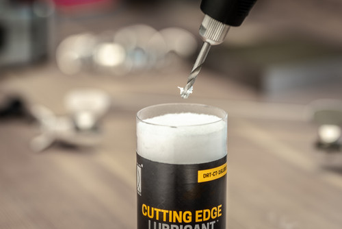 Add lubricant to drills