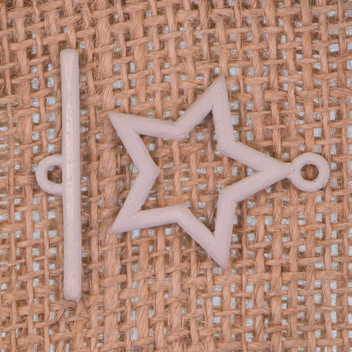 Moulded Star Toggle