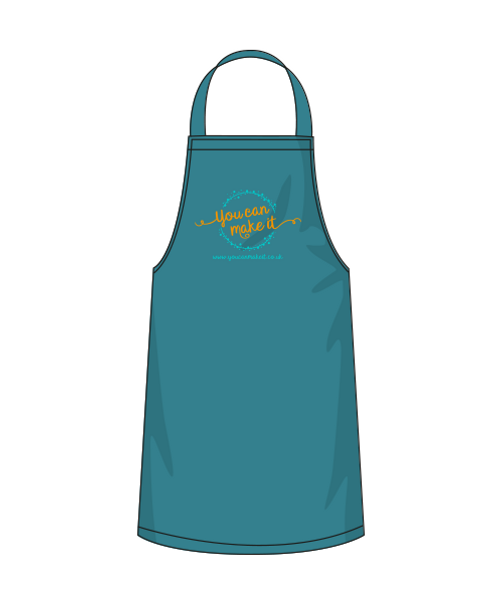Teal YCMI apron