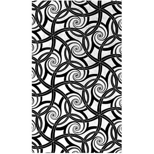 RMR Laser Texture Paper - Repeating Swirls - 50 x 89mm