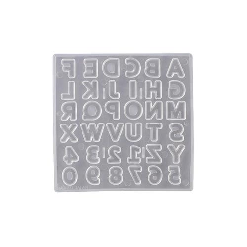 Padico Soft Resin Mold - Alphabet