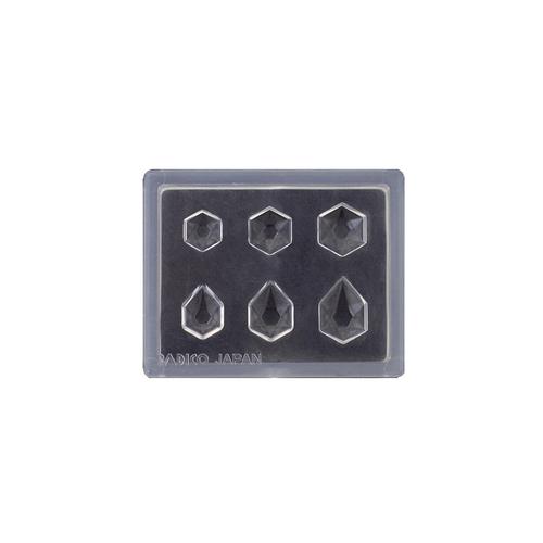 Padico Mini Cut Hexagons Mould for resin
