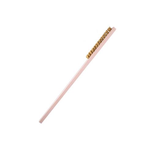 Brass Wire Brush (Short Bristles)