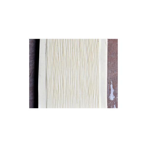 Acrylic Texture Fine Line Roller (KRFL) - Fine Lines - 7.5cm - Example