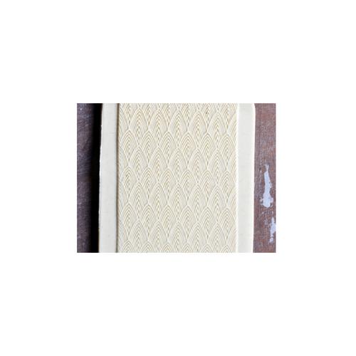 Acrylic Texture Fine Line Roller (KRFL) - Feather - 7.5cm - Example