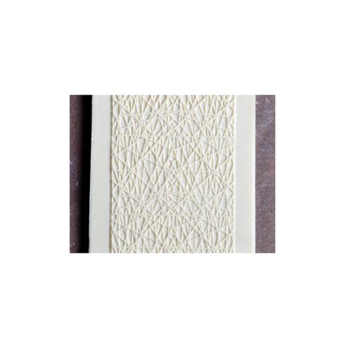 Acrylic Texture Fine Line Roller (KRFL) - Wrap it up - 7.5cm - Example