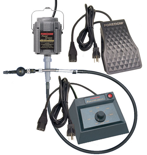 Foredom Powergraver - comes with a UK three pin plug