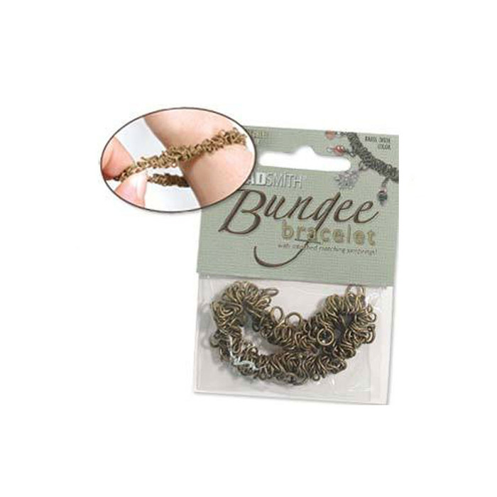 Bungee Bracelet - Brass Oxide