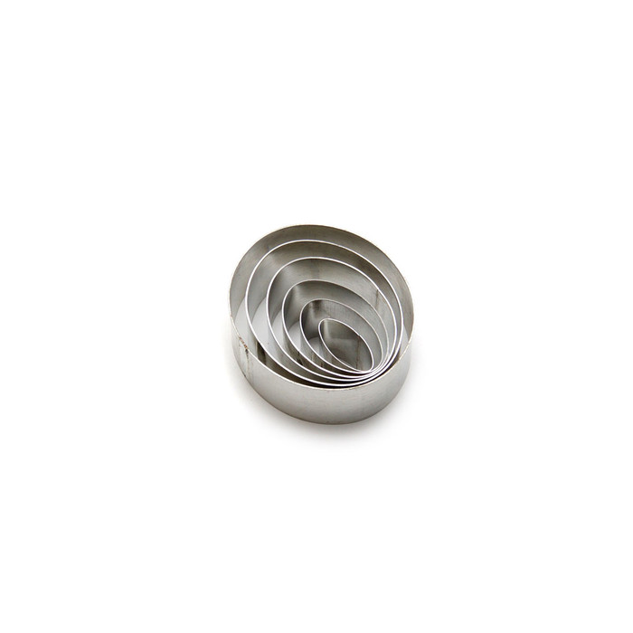 Cutters - Ovals - set of 6