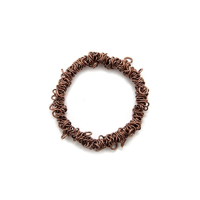 Bungee Stretch Bracelet - Antique Copper