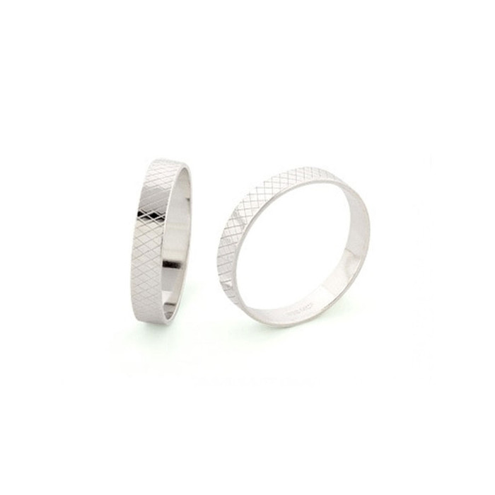 Ring Liner 4mm Wide - Fine Silver - UK Size T 1/2