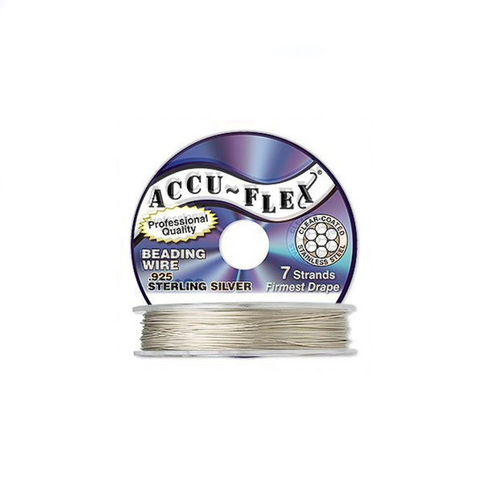 Accuflex Beading Wire - Sterling Silver