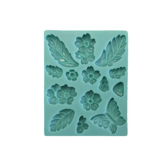 Best Flexible Moulds by Penni Jo- Summer Blooms