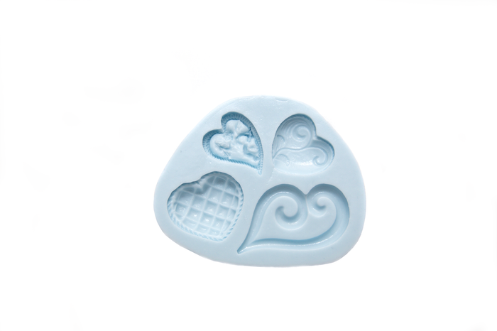 Silicone Mould - Heart Designs