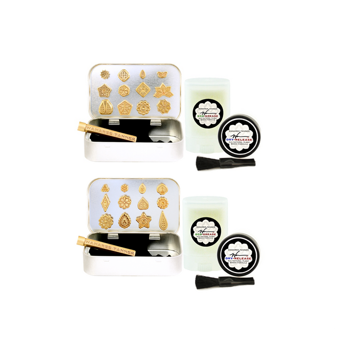 This complete set includes set 1 & 2 of Wanaree's Signature Die Cut Tools.
