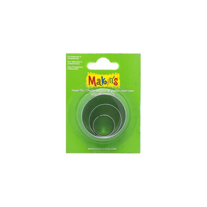 Makin's Clay Cutter Set - Round