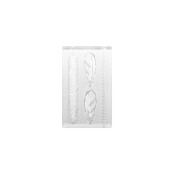 Silicone Mould - Feather Motifs