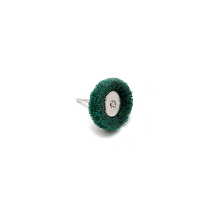 Abrasive Wheel Buff - 180 Grit, Green, 38mm