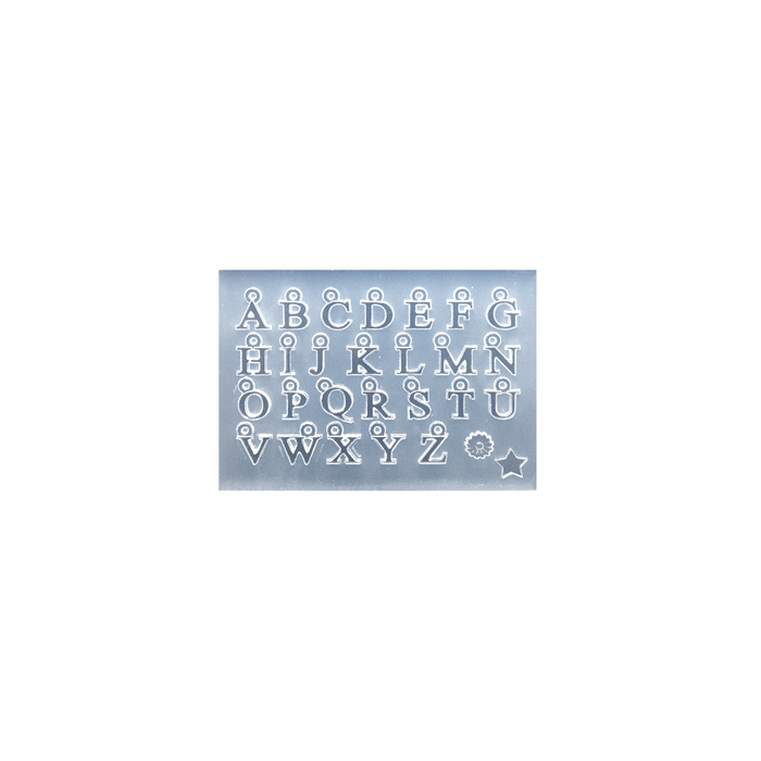 Silicone Alphabet Mould - Straight