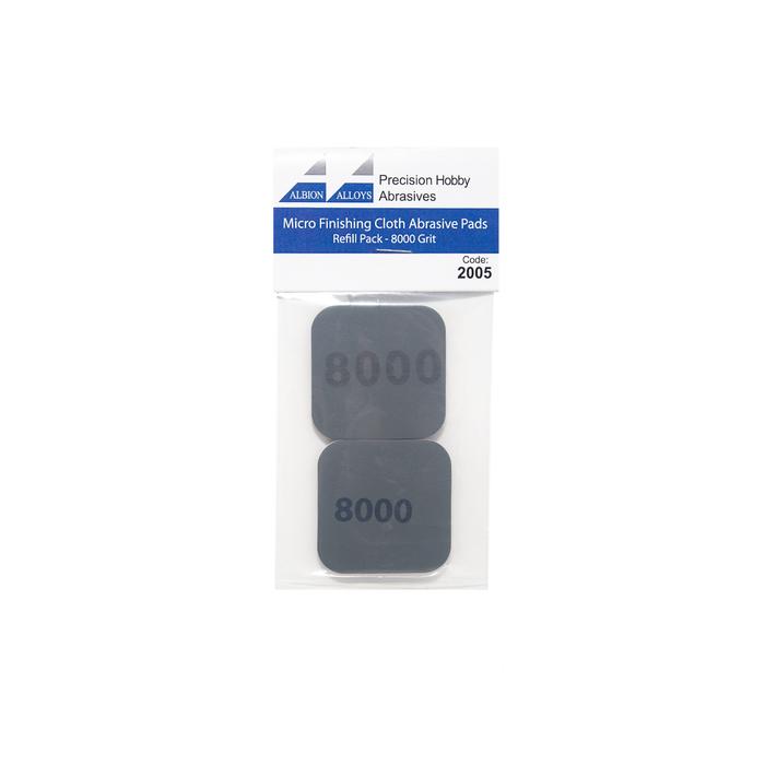Micro Finishing Cloth Abrasive Pads - 8000 Grit