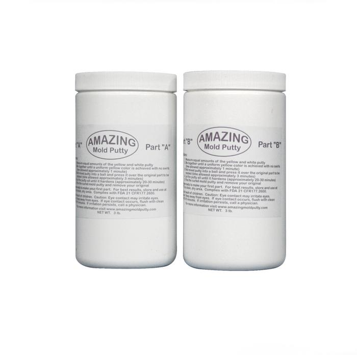 Alumilite Amazing Mould Putty Moulding Compound - 2.7kg / 6lb
