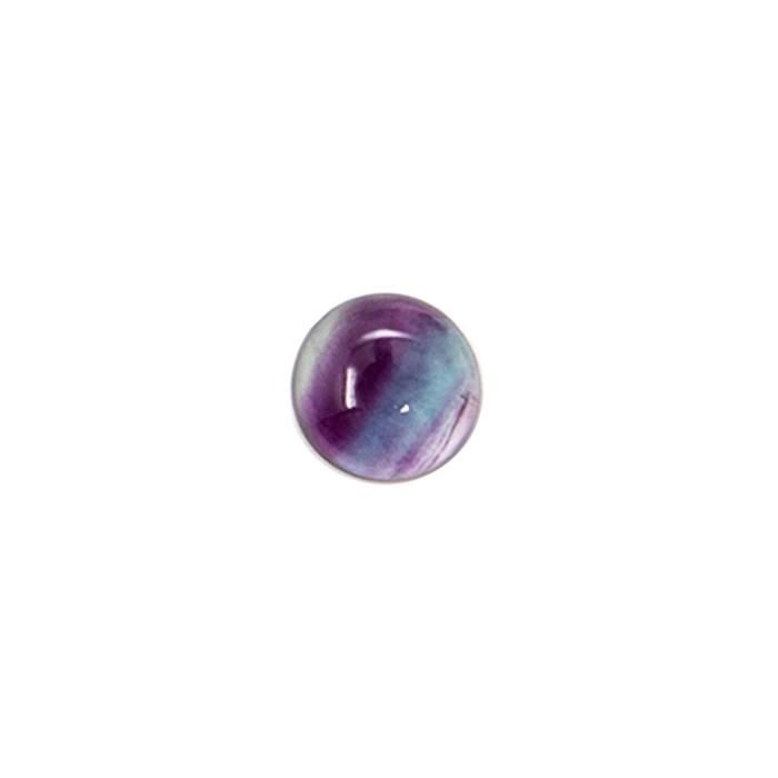 Round Cabochon - Fluorite - 10mm