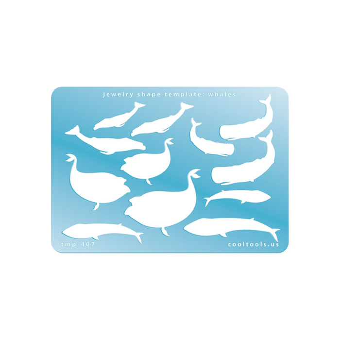 Whales template by Cool Tools.