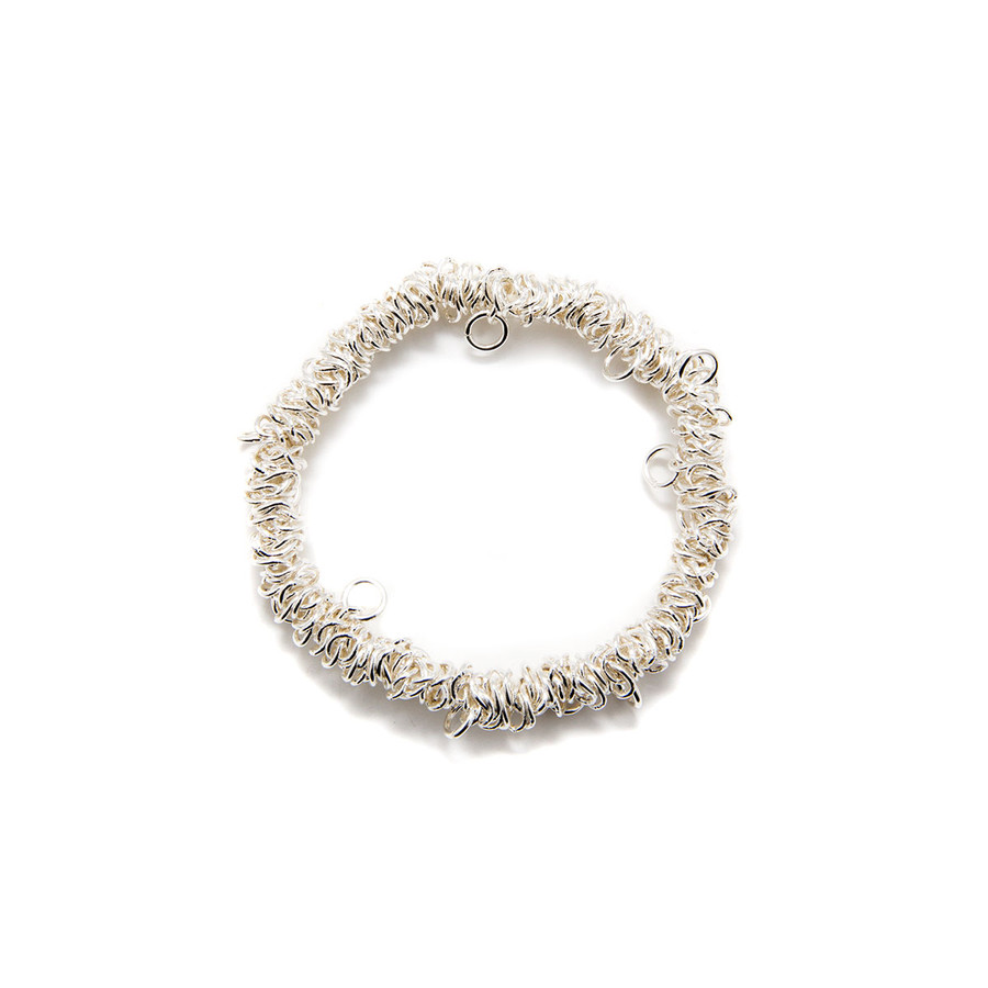 Bungee Bracelet - Silver Plated