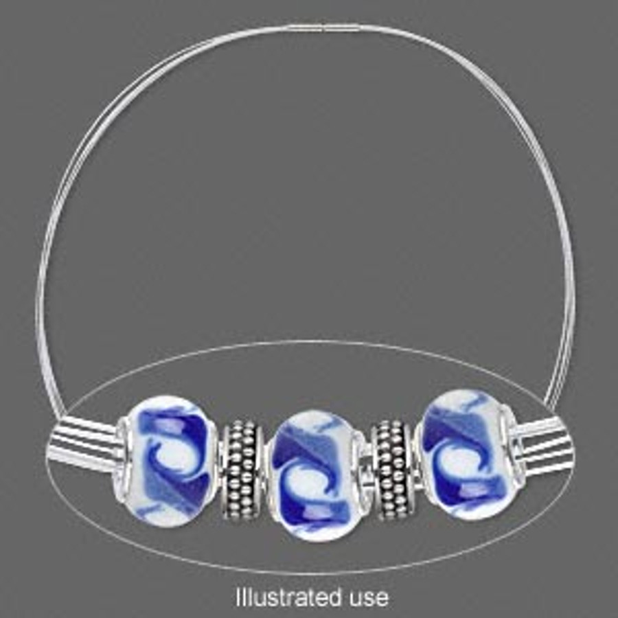 Stainless Steel Choker Necklace - White