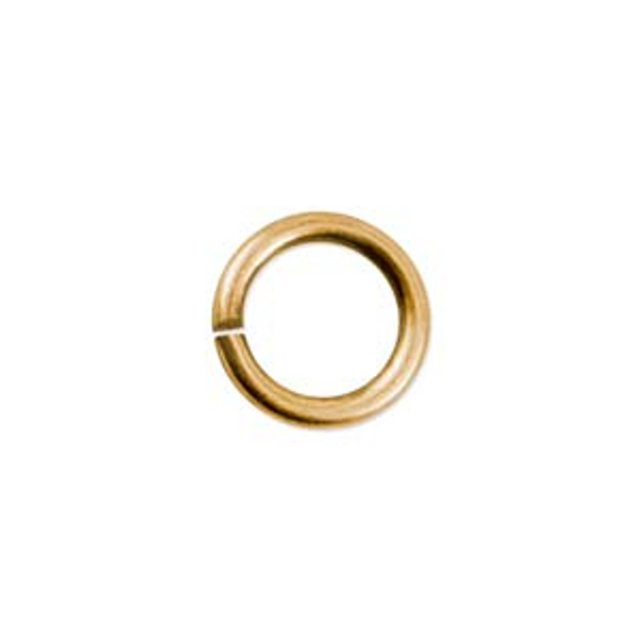 Jump Ring - Antique Gold - 8.5mm