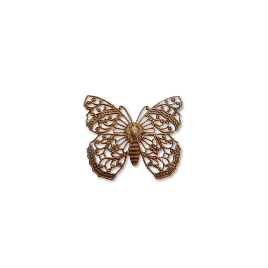 Filigree Butterfly - 38 x 46mm