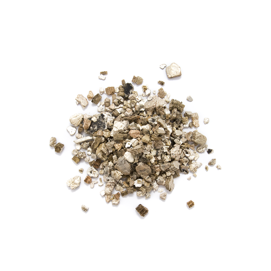 Vermiculite firing media.