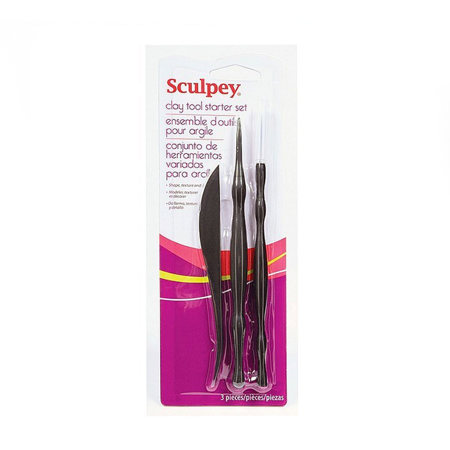 Studio Sculpey - Clay Tool Starter Set