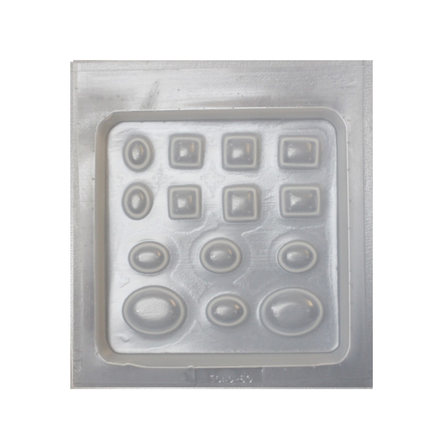 Resin mould - Assorted Jewels - 14 in 1