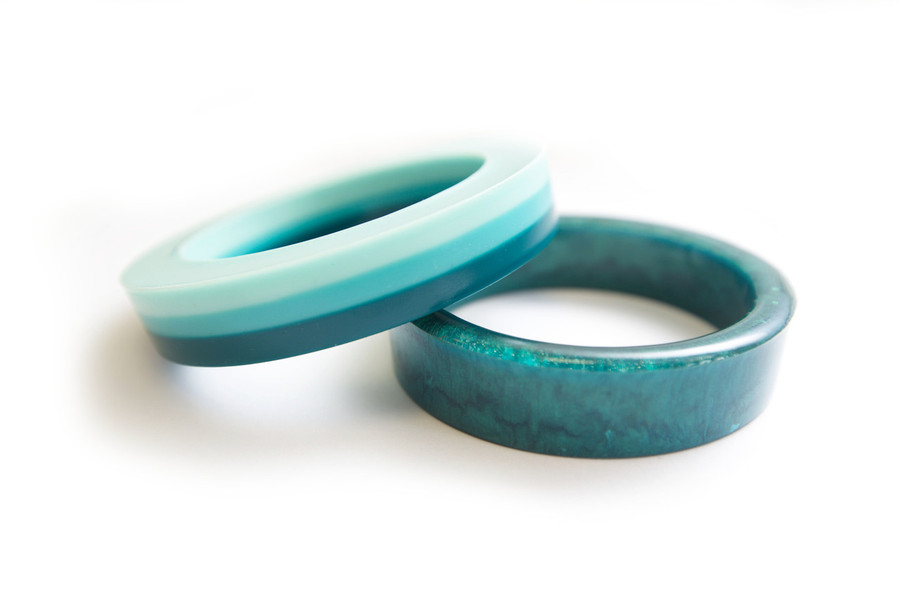 Resin mould - Bangle - Large Thin