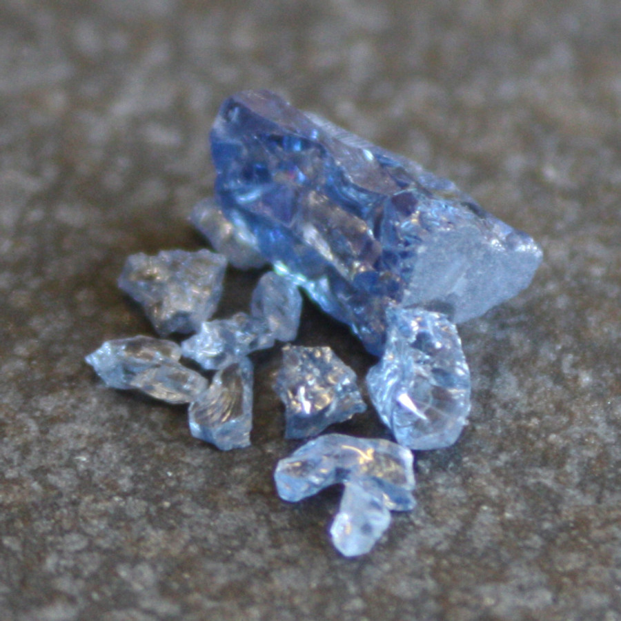 Mineral Accents - Blue Sapphire