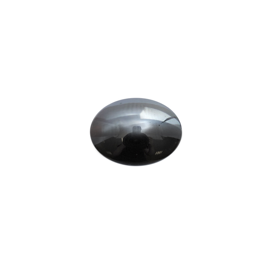 Oval Cabochon - Hematite - 10x14mm