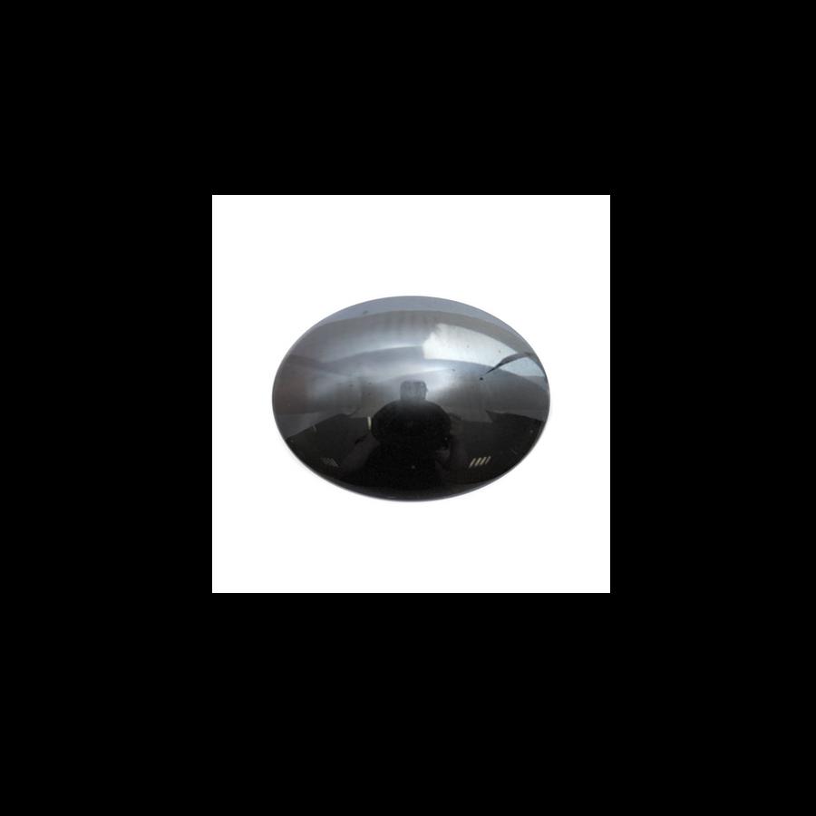 Oval Cabochon - Hematite - 10x14mm