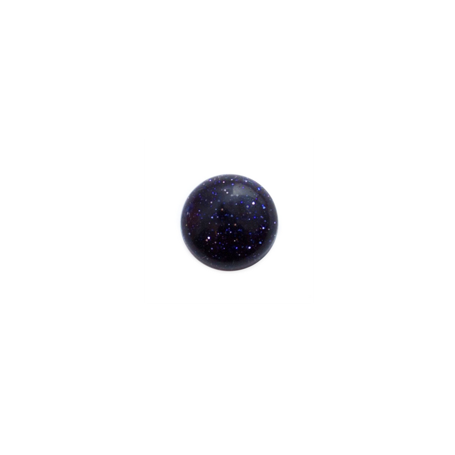 Round Cabochon - Blue Goldstone - 8mm