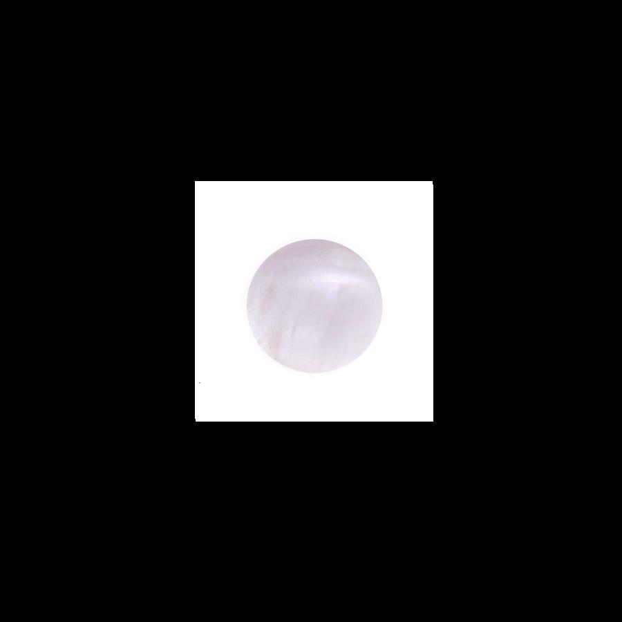 Round Cabochon - Rose Quartz - 8mm