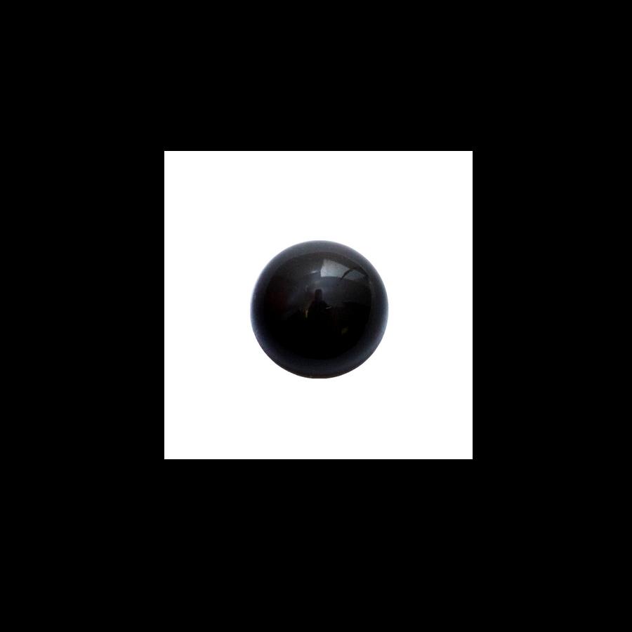 Round Cabochon - Black Onyx - 8mm
