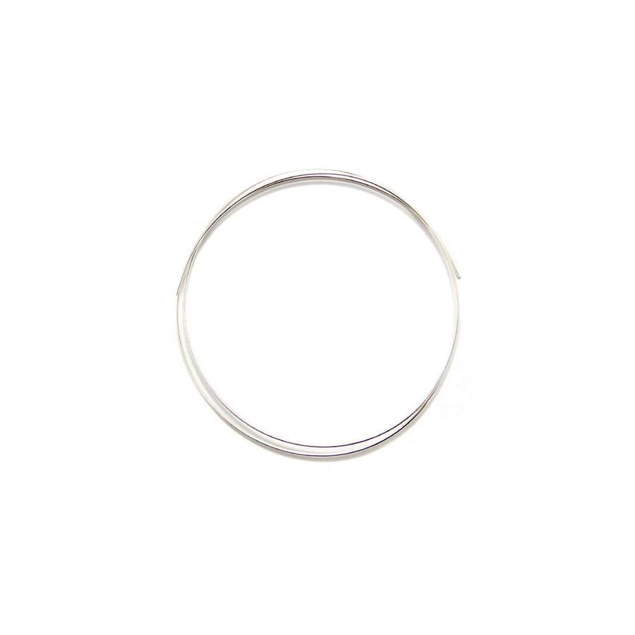 Fine Silver Round Wire - 0.80mm x 50cm