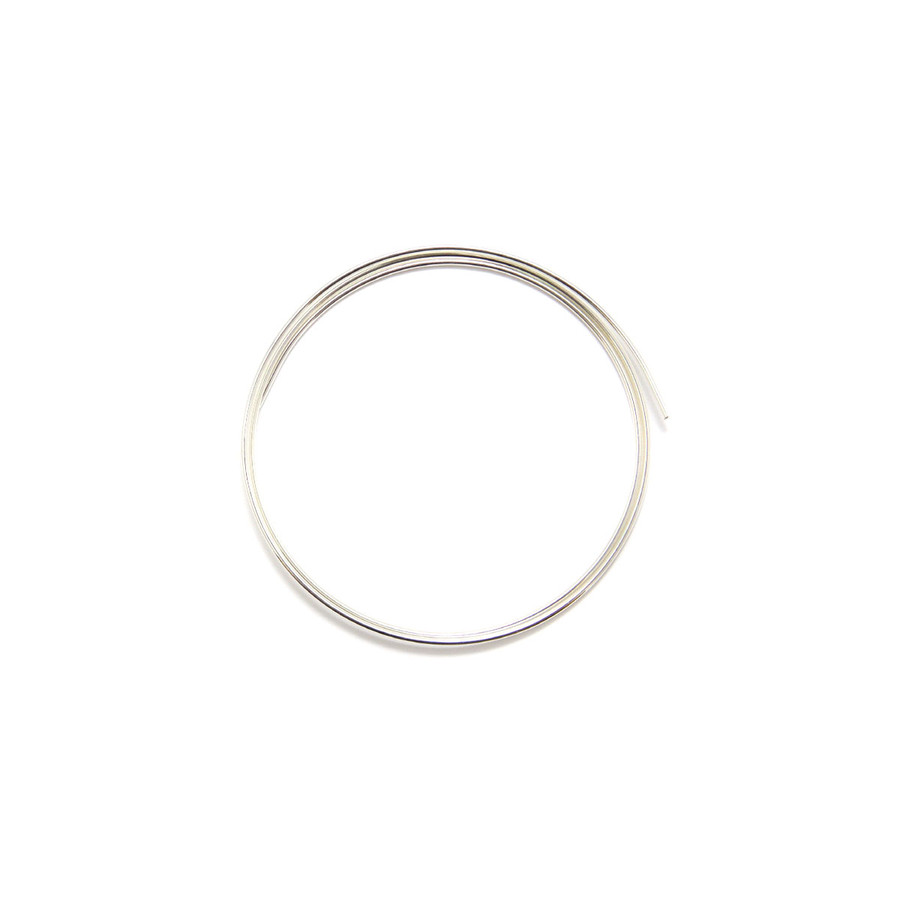 Fine Silver Round Wire - 1.2mm x 50cm