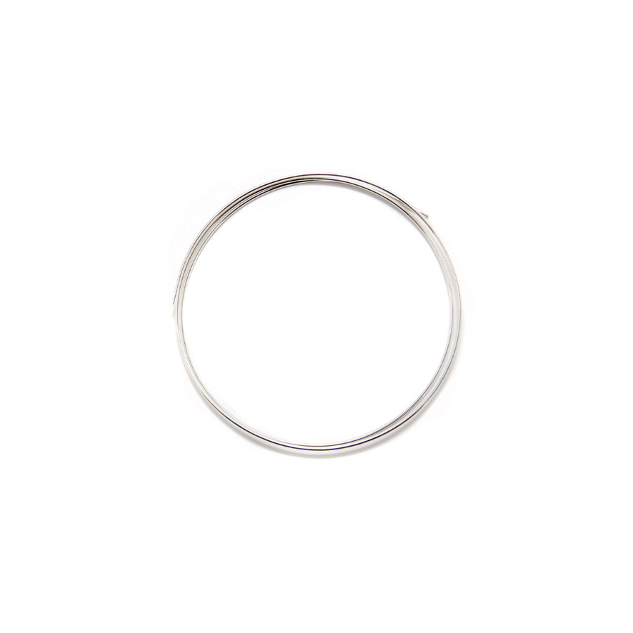 Fine Silver Round Wire - 1mm x 50cm
